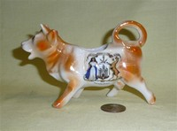 Edinburgh souvenir cow creamer