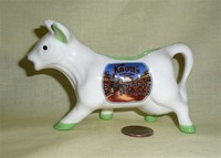 Knotts Berry Farm souvenir cow creamer