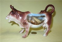 German made cow creamer souvenit of Cleethorpes