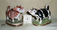 2 Royale Stratfoird cow creamers