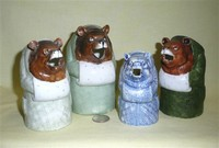 Family of S&V Bears with muffs