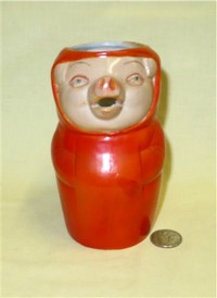 S&V Red wrapped pig creamer, front