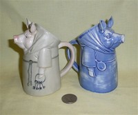S&V Blue and grey Monk Pigs