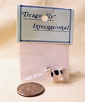 Dragonfly cow creamer in package