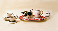 cow teaset from New Orleans