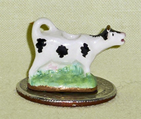 Valerie Casson doll house cow creamer