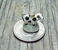 Doll house cow creamer from Cumbria