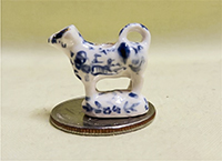 V&R Blue Willow cow creamer
