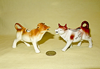 Czeck & Jersey small cow creamers