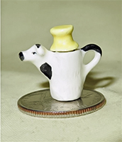 Milk Bottle doll house cow creamer