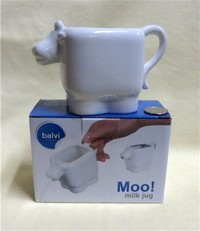 Balvi white cow jug from Barcelona