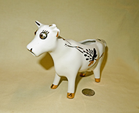 Elbee Art cow creamer with bulgy eyes