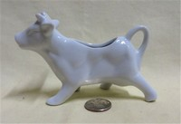 Country Cupboard UK white cow creamer
