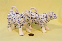 Two Ditsy Cow from Sur la Table cow creamers