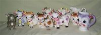 A herd of 'cute' cow creamers