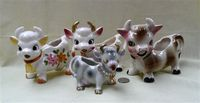 Four more variants of the 'cute' cow creamer