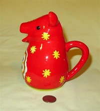 Red MWM Market cow creamer