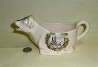 Safe Harbour cow creamer, side