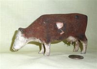 Old rubber squeeze milking cow toy