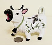 small Meisselman Italy cow creamer