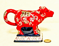 Tracy Porter's 'French Meadow' red cow creamer