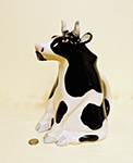 Black and White Animals & Co cow pitcher