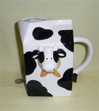 Enesco pitcher with cow head
