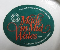 Made in Mid-Wales sticker