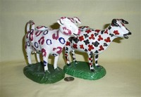 Cambrian and Glamorgan cow creamers