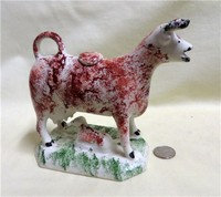 Red and white C.Cooke cow c></a></td>reamer with calf