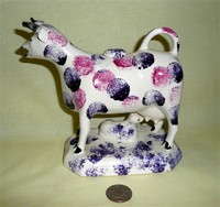 C.Cooke cow creamer with calf