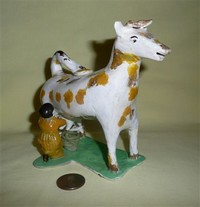 Cow creamer copy by N.Pratt, right