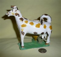 Cow creamer copy by N.Pratt, left