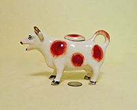 Sandland cow creamer, side
