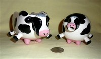 Boston Warehouse cow creamer and sugar