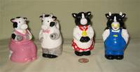 Applause and House of Lloyd cow creamers and sugars
