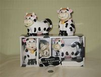 Houston Harvest cow creamer and sugar gift package