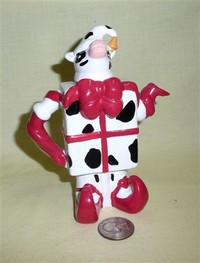 Small jester cow teapot